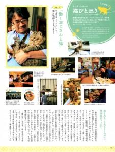 ねこのきもち201507働くおじさんと猫
